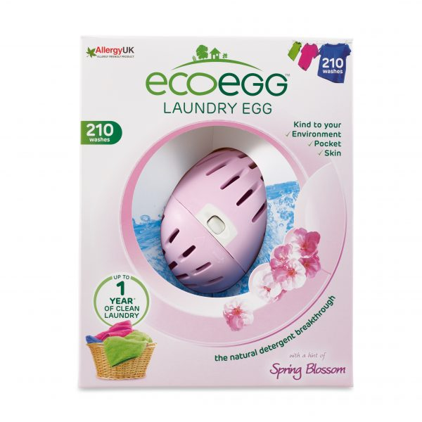 Laundry Egg 210 Washes Spring Blossom Front