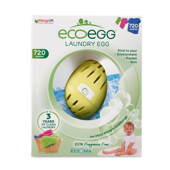 Laundry Egg 720 Washes Fragrance Free Front