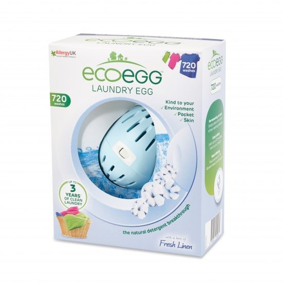Laundry Egg 720 Washes Fresh Linen Left